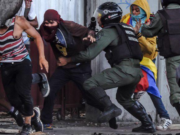 Proteste in Venezuela