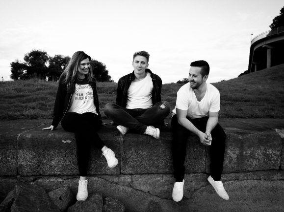 Julia, Matthias und Chris sind Randfigur. Foto: Promo