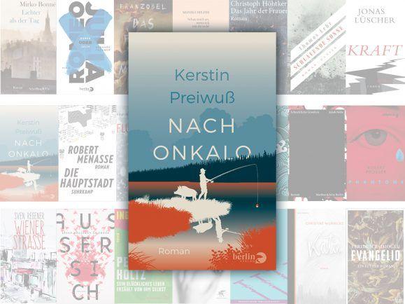 """Der Roman """"Nach Onkalo"""" von Kerstin Preiwuß steht auf der Longlist des Deutschen Buchpreises 2017. Foto:   detektor.fm / Berlin Verlag"""