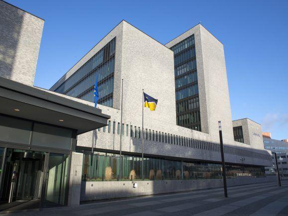 Zu sehen ist der Hauptsitz von Europol in Den Haag.