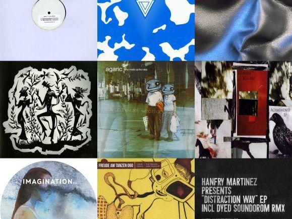 Zehn Platten haben Taron-Trekka für den MiXery-Plattenkoffer ausgewählt, von Agaric bis Stephan Beaupré .  Collage: detektor.fm
