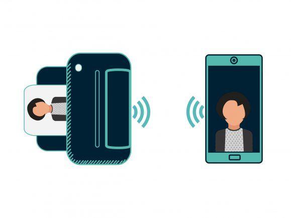 Smartphone-Drucker