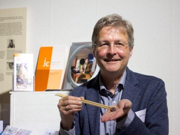 """Guido Ritter vom Foodlab """"34 Ernten"""" spricht über das Essen der Zukunft."""