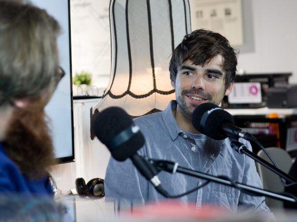 Sebastian Lehmann auf der Frankfurter Buchmesse