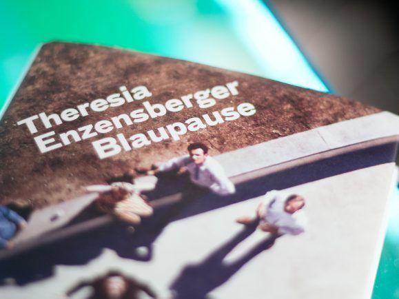 Das Buch Blaupause von Theresia Enzensberger (Foto: Kati Zubek)