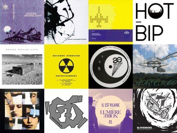 """Underworlds """"Born Slippy"""", analog rauen Electro und Ambient aus Moskau hat Jennifer Touch für ihren MiXery-Plattenkoffer herausgesucht. Collage: detektor.fm"""
