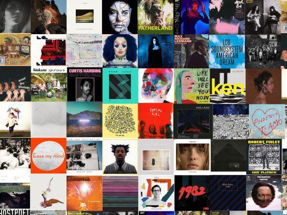 Welches Cover ziert das Album des Jahres?