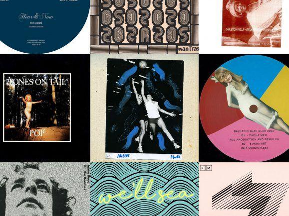 Lauter langsame Platten der letzten 35 Jahre haben RSS Disco für ihren MiXery-Plattenkoffer ausgesucht. Collage: detektor.fm
