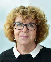 Die Pressesprecherin der Berliner Verkehrsbetriebe (BVG) Petra Reetz aufgenommen am 23.10.16 in Berlin. Foto: BVG/Oliver Lang