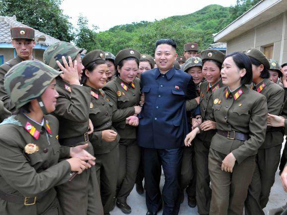 nordkoreanische Zwangsarbeiter