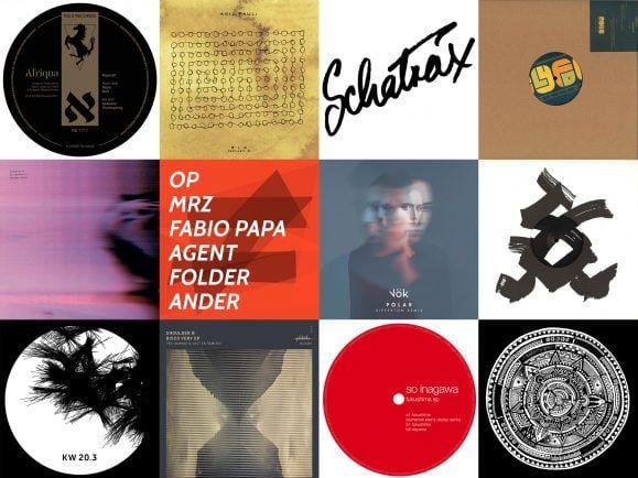 Zwölf Deep-House-Platten hat Fritz Windish von Soukie & Windish für seinen MiXery-Plattenkoffer ausgewählt. Collage: detektor.fm