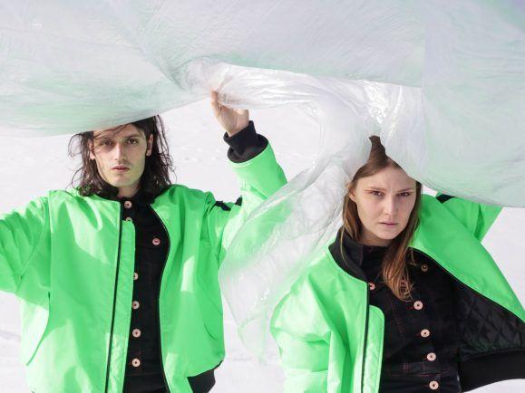 Julian Angerer und Nora Pider sind die Band Anger.  Foto: Jasmine Deporta