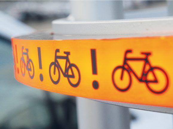 Bike-Flash für Rechtsabbieger
