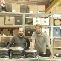 besitzer des vinylpresswerks intakt