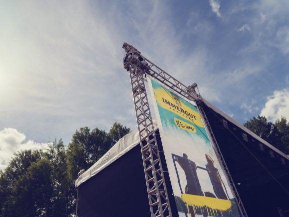 Immer gut, hier zu sein. Das Immergut-Festival lockt mit familiärer Atmosphäre. Foto: Sebastian Gottschalk