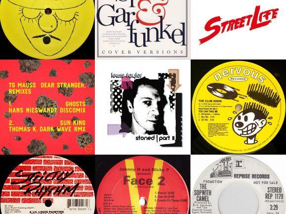 Hans Nieswandt gewährt einen Blick in seinen legendären Plattenkoffer. Darin finden sich House-Klassiker der frühen 1990er und einige unveröffentlichte eigene Tracks. Collage: detektor.fm