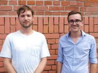 Martin Machowecz (Büroleiter Zeit im Osten) und Josa-Mania Schlegel (Krautreporter) Detektor.fm-Foto