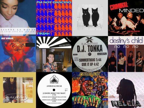 Soul und Pop, HipHop und House – der Plattenkoffer von Meggy ist bunt, nicht nur von den Cover-Artworks her. Collage: detektor.fm