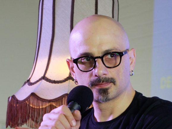 Zaza Burchuladze hat auf der Frankfurter Buchmesse mit detektor.fm-Moderator Christian Bollert gesprochen. Foto: Kati Zubek | detektor.fm