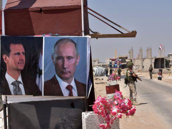Russland ist einer der vier Akteure, die einen Sturz Assads verhindert haben. Wer wissen will, wie es in Syrien weitergeht, muss deshalb fragen, was diese vier für ihre Treue einfordern.  Foto: Delil Souleiman | AFP