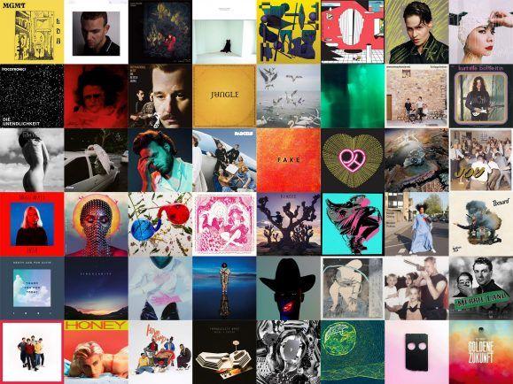 Welches Cover ziert das Album des Jahres? Collage: detektor.fm