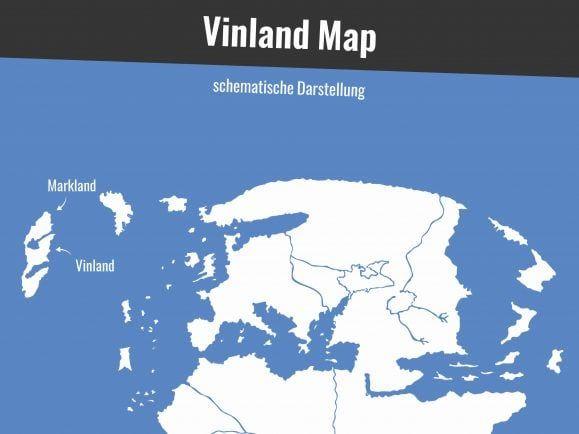 Wikinger Vinland Karte