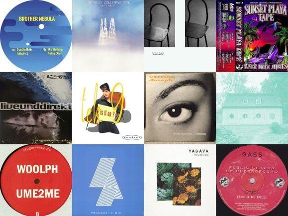 Ein Blick in Nick Höppners Plattenkoffer verrät, weshalb seine DJ-Sets so vielseitig ausfallen. Collage: Detektor.fm