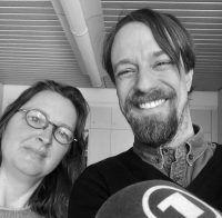 Gabriele Knetsch mit Moderator Florian Schairer. Foto: Florian Schairer