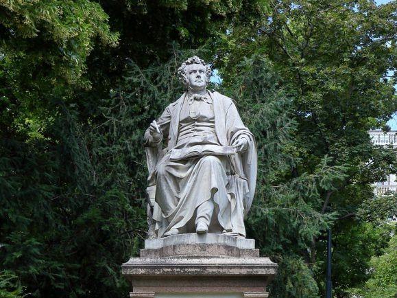 Franz-Schubert-Denkmal im Wiener Stadtpark. Foto: Bwag/Wikimedia, CC-BY-SA-4.0