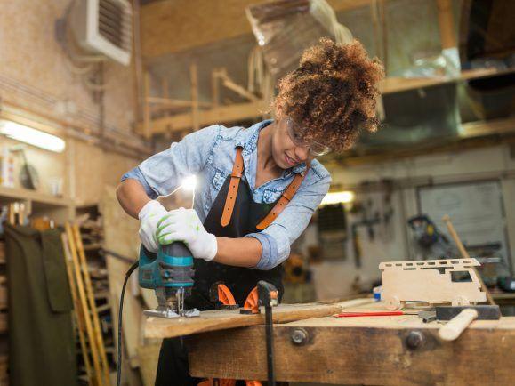 Frauen im Handwerk