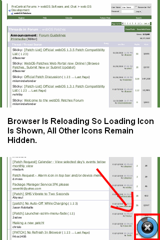 Auto Hide All Icons After Page Load Screenshot 0