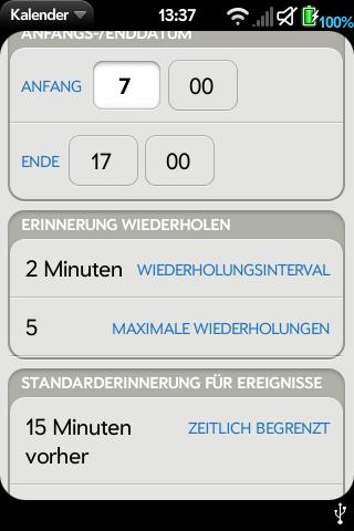 Notification Repeat German Localisation Screenshot 0