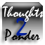 Thoughts 2 Ponder Logo