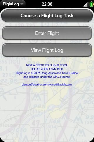 FlightLog: Aviation Flight Log Screenshot 0