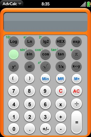 AdvCalc Screenshot 0