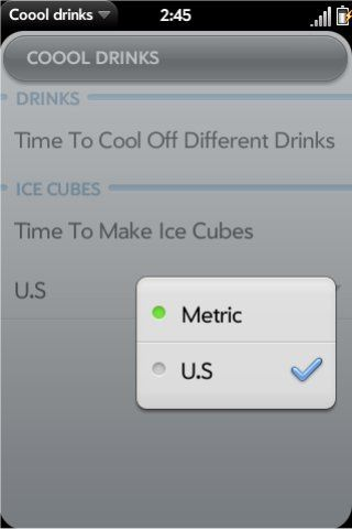 Coool Drinks Screenshot 0