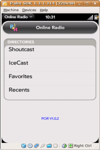 Online Radio Screenshot 0