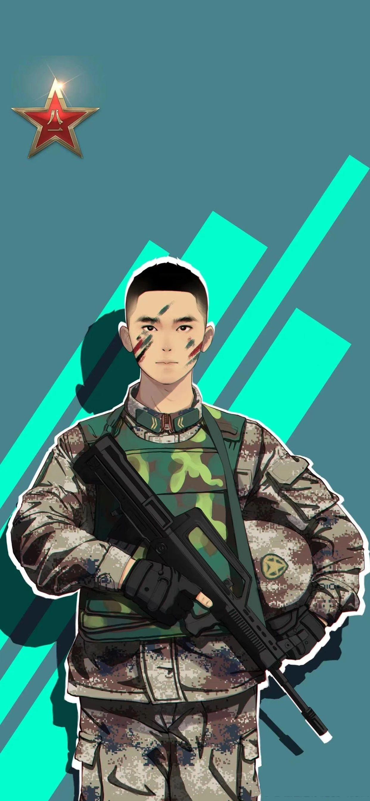 5f4fac4a84721 - 军人壁纸:哪有什么岁月静好,不过是有人替你负重前行