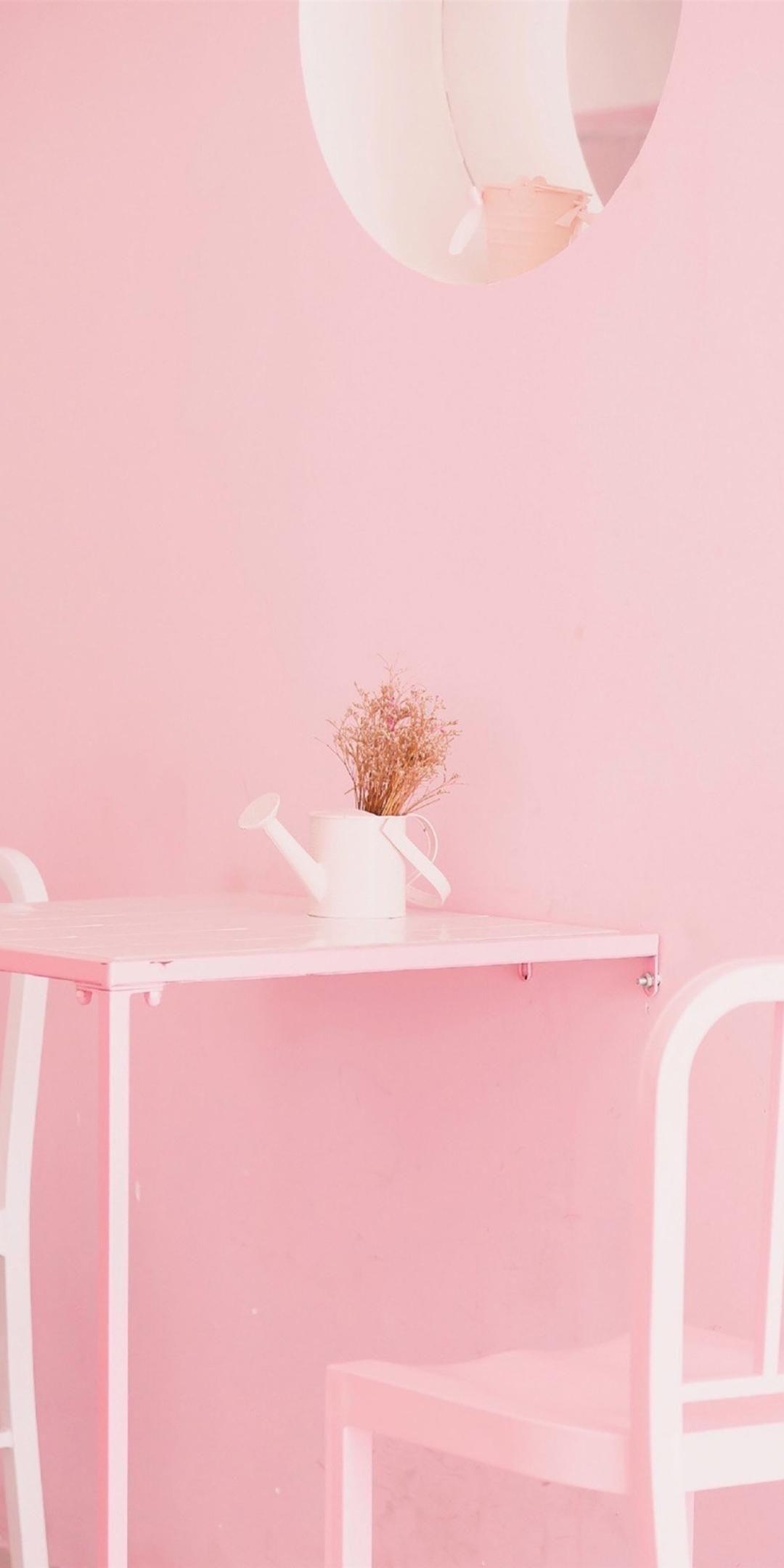 粉色系少女心手机壁纸插图57