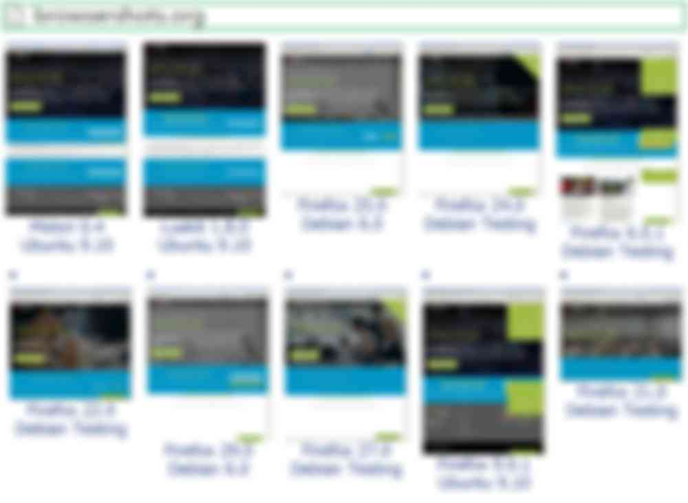 Cервис проверки кроссбраузерности Browsershots