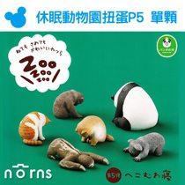 Norns【T-ARTS扭蛋 休眠動物園P5單顆】低頭睡Zoo 日本轉蛋熊貓之穴 無尾熊樹懶猴子熊猫 貓狗 療癒公仔