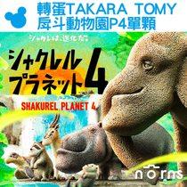 Norns【轉蛋TAKARA TOMY戽斗動物園P4單顆】日本扭蛋公仔戽斗星球 熊貓之穴 厚到星球 扭蛋星球 第4彈