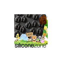【Siliconezone】施理康ZOO耐熱黑猩猩巧克力模/冰模-黑色