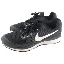 【nike】nike Air Zoom Pegasus 34 GS 女  慢跑鞋-黑 881953002