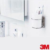 3M 無痕金屬收納系列-漱口杯架(BATH38)