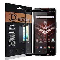 全膠貼合 ASUS rog phone ZS600KL滿版疏水疏油9H鋼化頂級玻...