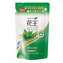 花王 KAO  植萃弱酸洗髮精-純淨去屑型補充包 蘆薈(550ml/包)
