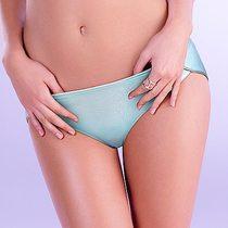 黛安芬-Home Bra-紓壓無鋼圈高叉三角內褲M-EEL(法式粉藍)