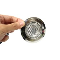 PUSH! 廚房用品外徑70MM內徑43MM深度18MM密合式不鏽鋼流理台水槽濾...