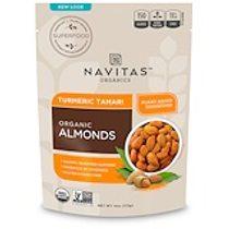 Navitas Organics, 有機,超級食品+杏仁,薑黃醬油,4盎司(113克)